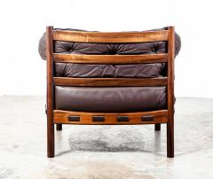 Arne Norell Arne Norell Rosewood and Leather Chair - 1651035