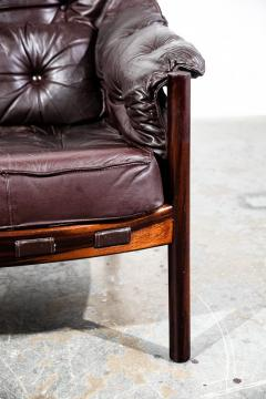 Arne Norell Arne Norell Rosewood and Leather Chair - 1651036