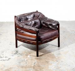 Arne Norell Arne Norell Rosewood and Leather Chair - 1651037