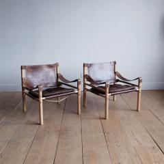 Arne Norell Pair of Arne Norell Scirocco Safari Chairs - 1168216