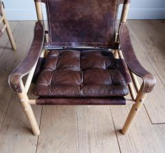 Arne Norell Pair of Arne Norell Scirocco Safari Chairs - 1168218
