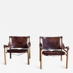 Arne Norell Pair of Arne Norell Scirocco Safari Chairs - 1168336