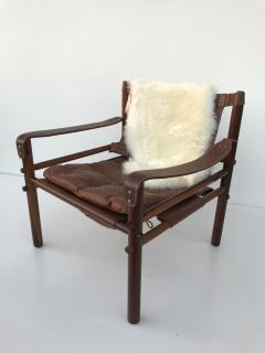 Arne Norell Pair Of Rosewood Sirocco Safari Chairs By Arne Norell   506547