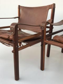 Arne Norell Pair Of Rosewood Sirocco Safari Chairs By Arne Norell   506549