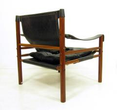 Arne Norell Sirocco Safari Chair In Rosewood Leather By Arne Norell   471539