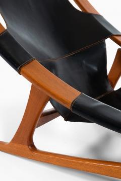 Arne Tidemand Ruud Lounge Chair Model Holmenkollen Produced by Norcraft - 1884824