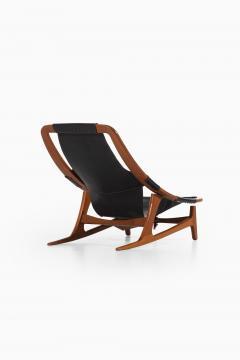 Arne Tidemand Ruud Lounge Chair Model Holmenkollen Produced by Norcraft - 1884825