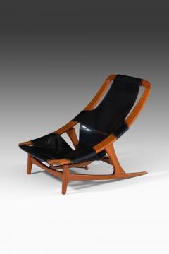 Arne Tidemand Ruud Lounge Chair Model Holmenkollen Produced by Norcraft - 1884827