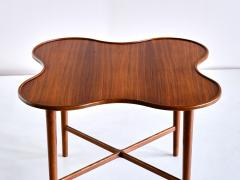 Arne Vodder Arne Vodder Attributed Teak Side Table with Quatrefoil Shape Denmark 1960s - 1881993