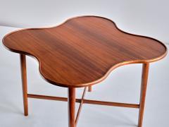 Arne Vodder Arne Vodder Attributed Teak Side Table with Quatrefoil Shape Denmark 1960s - 1881996