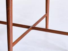 Arne Vodder Arne Vodder Attributed Teak Side Table with Quatrefoil Shape Denmark 1960s - 1881998