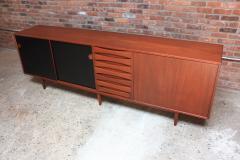 Arne Vodder Arne Vodder Teak Credenza with Reversible Doors - 374318