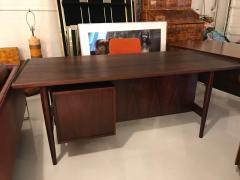 Arne Vodder Arne Vodder desk executive rosewood desk - 1252091
