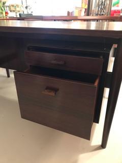 Arne Vodder Arne Vodder desk executive rosewood desk - 1252093