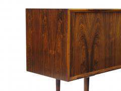 Arne Vodder Arne Vodder for P Olsen Sibast Mobler Rosewood Tambour Credenza Sideboard - 1053906