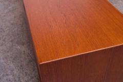 Arne Vodder Arne Vodder for Sibast Tambour Door Teak Credenza Model 37 - 1749920
