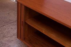 Arne Vodder Arne Vodder for Sibast Tambour Door Teak Credenza Model 37 - 1749924
