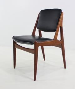 Bon Arne Vodder Eight Danish Modern Ellen Teak Dining Chairs Designed By Arne  Vodder   470766