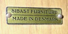 Arne Vodder Exceptional Scandinavian Modern Credenza w Tambour Doors by Arne Vodder - 1513515