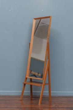 Arne Vodder Mid Century Modern Pivoting Floor Mirror - 1978796