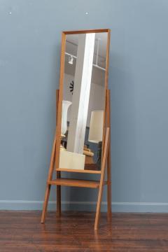 Arne Vodder Mid Century Modern Pivoting Floor Mirror - 1978797
