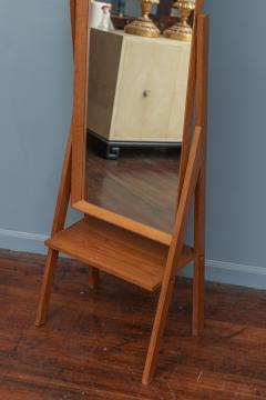 Arne Vodder Mid Century Modern Pivoting Floor Mirror - 1978798
