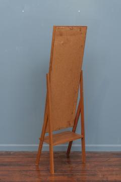 Arne Vodder Mid Century Modern Pivoting Floor Mirror - 1978801
