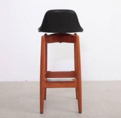 arne vodder pair of arne vodder teak bar stools for sibast furniture