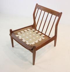 Arne Vodder Pair of Scandinavian Modern Easy Chairs Designed by Arne Vodder - 1667197