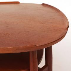 Arne Vodder Scandinavian Modern Arne Vodder Kidney Form Teak Coffee Table circa 1960s - 910578