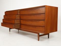 Arne Vodder Scandinavian Modern Eight Drawer Teak Dresser Designed by Arne Vodder - 2012657