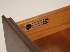 Arne Vodder Scandinavian Rosewood Bar Cart Cabinet Designed by Arne Vodder - 2026273
