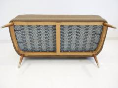 Arne Wahl Iversen Wool Sofa with Curved Back by Arne Wahl Iversen - 1458745