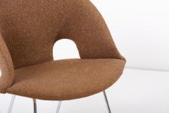 Arno Votteler Model 350 Lounge Chair by Arno Votteler for Walter Knoll Germany 1950s - 2077174