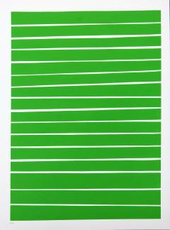 Aron Hill 16 Light Green Lines - 1216114