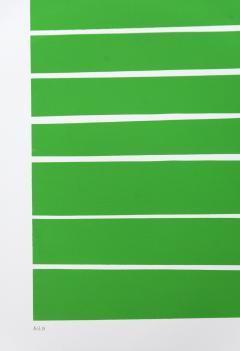 Aron Hill 16 Light Green Lines - 1216115