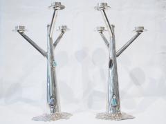 Arrigo Finzi Pair of Arrigo Finzi candle holders - 1793536