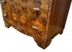 Art Deco 1930s Heavily Figured Writing Bureau - 1038803