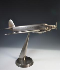 Art Deco Airplane Display Presentation Desk Model Fiat Italy - 1168710