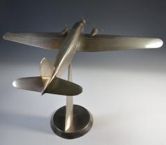 Art Deco Airplane Display Presentation Desk Model Fiat Italy - 1168712