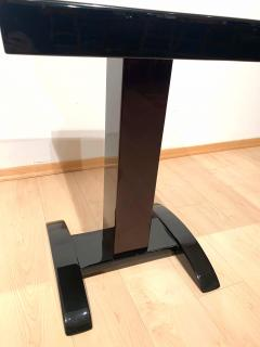 Art Deco Bistro or Side Table Mahagoni and Black Lacquer France 1930s - 1903610