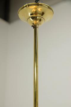 Art Deco Brass 4 flamming Chandelier 1930s - 2088088