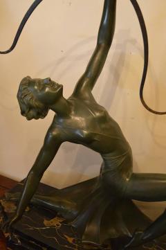 Art Deco Bronze Archer Statue - 368684