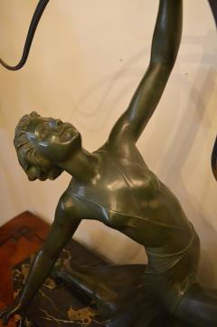 Art Deco Bronze Archer Statue - 368685