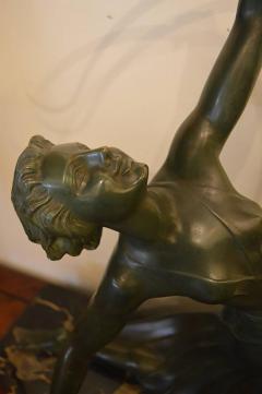 Art Deco Bronze Archer Statue - 368686