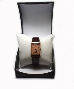 Art Deco Bulova WW2 14k Rose Gold 21 Jewels Gents Wrist Watch Newly Serviced - 954084
