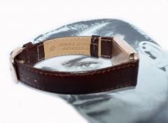 Art Deco Bulova WW2 14k Rose Gold 21 Jewels Gents Wrist Watch Newly Serviced - 954088