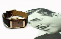 Art Deco Bulova WW2 14k Rose Gold 21 Jewels Gents Wrist Watch Newly Serviced - 954089