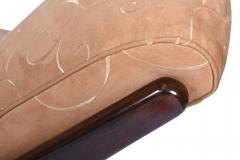 Art Deco Chaise Lounge Rosewood Italy 1930 s - 1873778