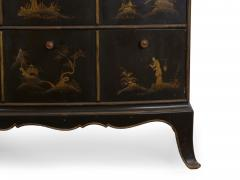 Art Deco Chinoiserie Mirrored Top Chest of Drawers - 1162972